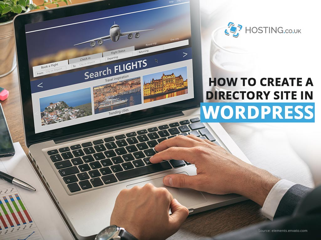 Create a directory website in WordPress