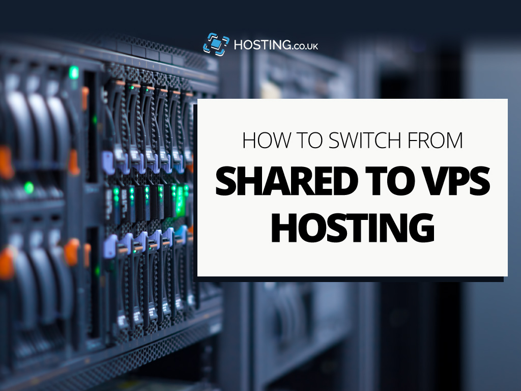 Move from Shared to VPS Hosting