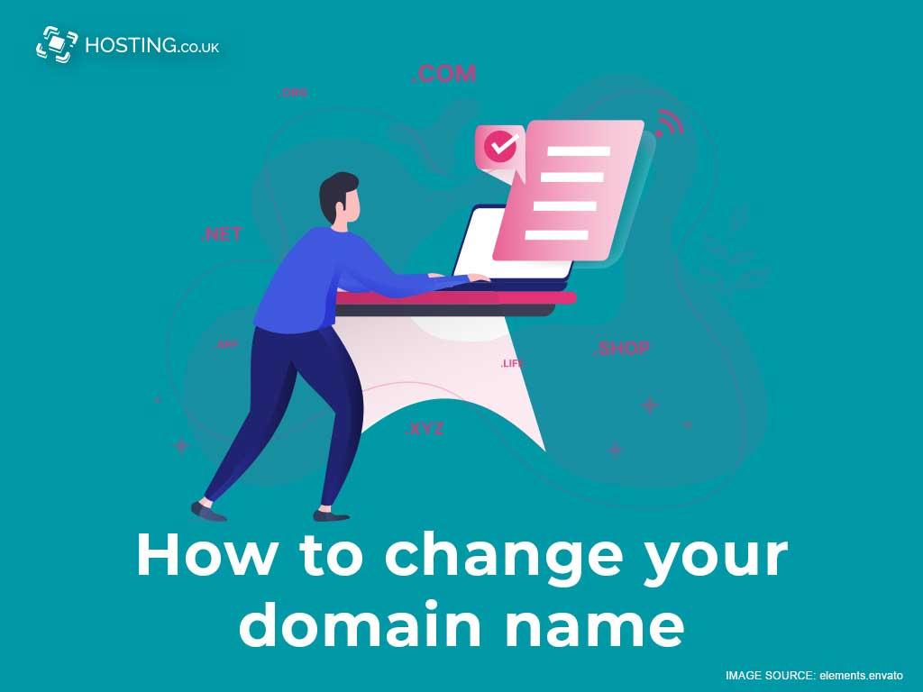 change domain name